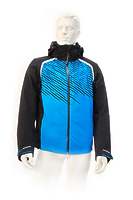 Горнолыжная куртка Volkl Black Flash Jacket black/bright azure-black print -40%