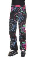 Женские брюки Volkl Silver Star pants black flower -50%