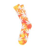 Носки HUF Tie-Dye Plantlife Socks yellow magenta