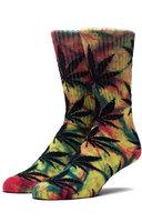 Носки HUF Tie Dye plantlife socks rainbow