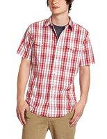 Тенниска Hurley Combo woven shirt redline -60%