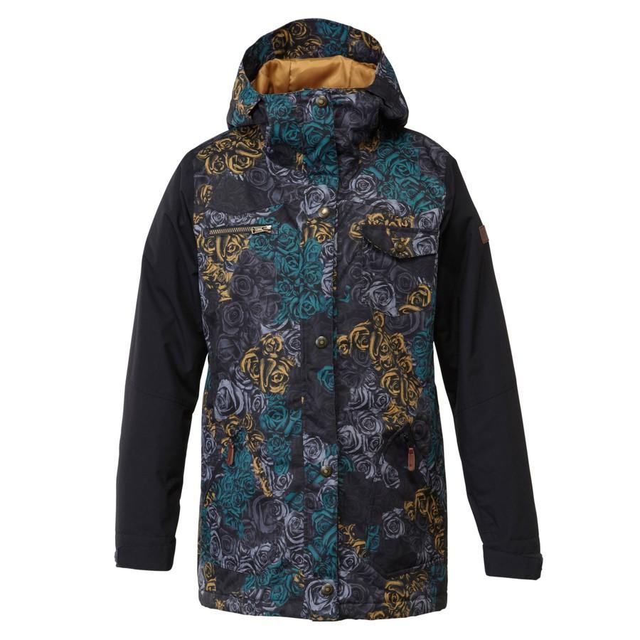 Женская куртка DC Falcon camo by agency iworldestate.com