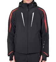 Горнолыжная куртка Volkl Black Flash Jacket black/red/white -40%