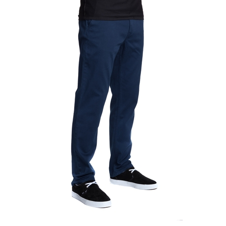 Брюки HUF Fulton Chino pants navy by agency iworldestate.com
