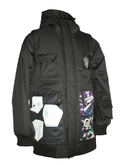 Сноубордическая куртка Technine Gooner Sig. Jacket black -50% by agency iworldestate.com