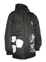 Сноубордическая куртка Technine Gooner Sig. Jacket black -50%