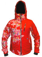 Женская куртка Volkl Mont Blanc red -70%
