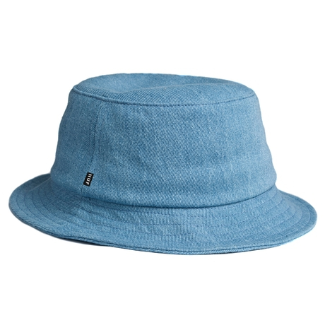 Панамка HUF Classic bucket denim blue by agency iworldestate.com