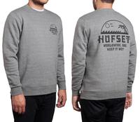 Реглан HUF  Keep it wet crew grey heather -30%