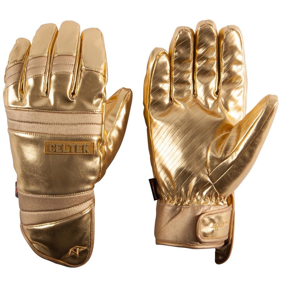 Перчатки Celtek Faded gold finger by agency iworldestate.com