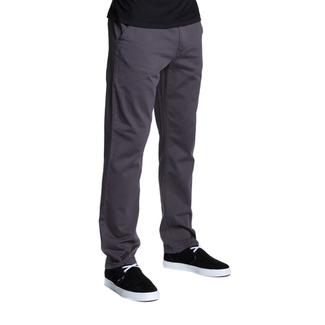 Брюки HUF Fulton Chino pants graphite by agency iworldestate.com