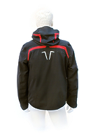 Горнолыжная куртка Volkl Black Flash Jacket black/red black print -40%