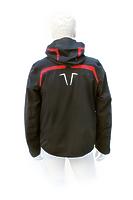 Горнолыжная куртка Volkl Black Flash Jacket black/red black print -50%