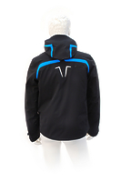 Горнолыжная куртка Volkl Black Flash Jacket black/bright azure-black print -50%
