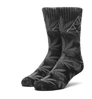 Носки HUF 420 Triple Triangle socks smoke black