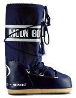 Зимние сапоги, детские мунбуты Tecnica Moon Boot Nylon blue junior