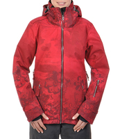 Женская куртка Volkl Manu Jacket wild thing goon red print-40%