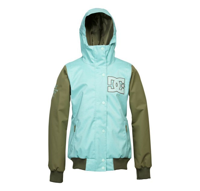 Женская куртка DC Squad marine blue solid -50% by agency iworldestate.com