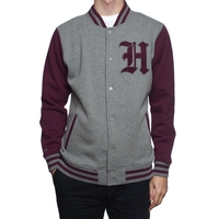 Куртка HUF SF Ivy Varsity jacket grey