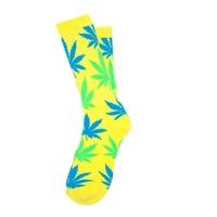 Носки HUF Neon Plantlife Socks neon yellow
