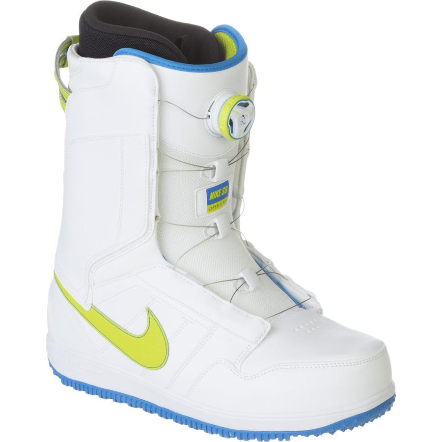 1d12c320 Сноубордические ботинки Nike Vapen X Boa White