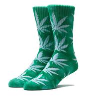 Носки HUF Tie Dye Plantlife Sock green