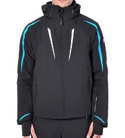 Горнолыжная куртка Volkl Black Flash Jacket black/bright azure/white -40%