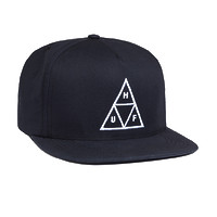 Кепка HUF Triple Triangle snapback navy