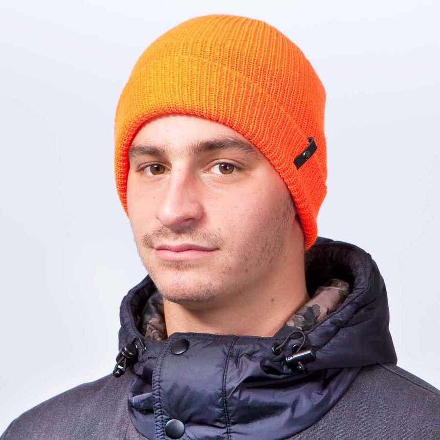 Шапка Celtek Clan beanie safety orange by agency iworldestate.com