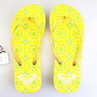 Женские вьетнамки Roxy yellow -60% by agency iworldestate.com
