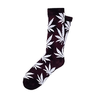 Носки HUF Tie-Dye Plantlife Socks wine