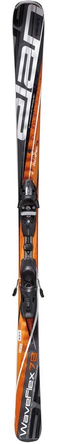 Горные лыжи Elan Waveflex 78 с креплениями Waveflex 78 + ELX 11.0 Fusion -50% by agency iworldestate.com