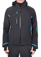 Горнолыжная куртка Volkl Black Jack Jacket black/bright azure/white -40%