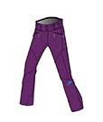 Женские брюки Volkl Nanga pants violet -50%