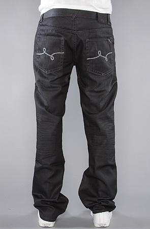 Джинсы LRG The Uprooting True Straight Fit Jean in Black Wash -50%