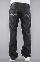 Джинсы LRG The Uprooting True Straight Fit Jean in Black Wash -50%