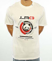 Футболка LRG The Panda Operation in white -50%