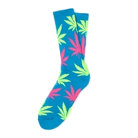 Носки HUF Neon Plantlife Socks blue