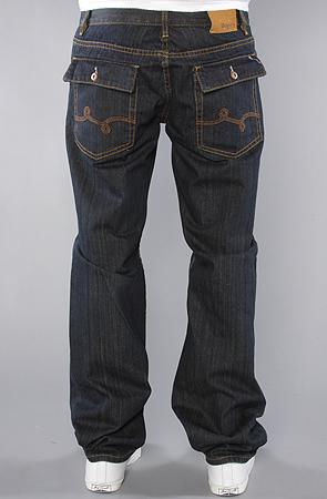 Джинсы LRG The Cultivators True Straight Fit Jean in Dark Indigo Wash -50% by agency iworldestate.com