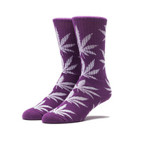 Носки HUF Glow in the Dark Plantlife Socks red