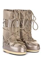 Зимние сапоги, детские мунбуты Tecnica Moon Boot Glance platinum junior
