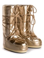 Зимние сапоги, мунбуты Tecnica Moon Boot Vinil Met gold