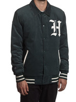 Куртка HUF SF Victor Varsity jacket forest