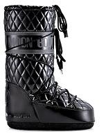 Зимние сапоги, мунбуты Tecnica Moon Boot Queen black