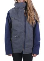 Женская куртка Holden Moto jacket Heather Gray-Ink