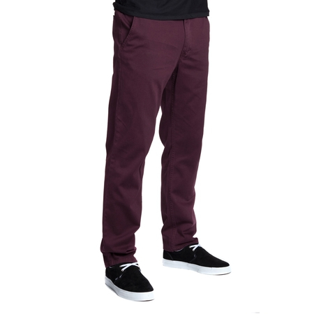 Брюки HUF Fulton Chino pants wine