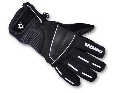 Мужские перчатки Volkl Black Jack glove black/white by agency iworldestate.com