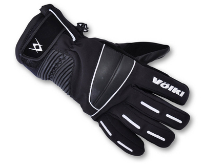 Мужские перчатки Volkl Black Jack glove black/white by agency iworldestate.com