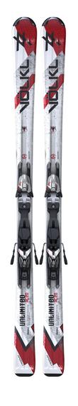 Горные лыжи Volkl Unlimited с креплениями AC20+3Motion 11.0 -50%