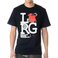 Футболка LRG Apple Eater black -50%